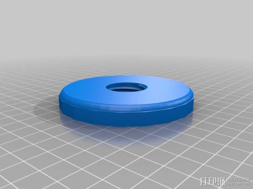 小型绞盘  3D模型  图5