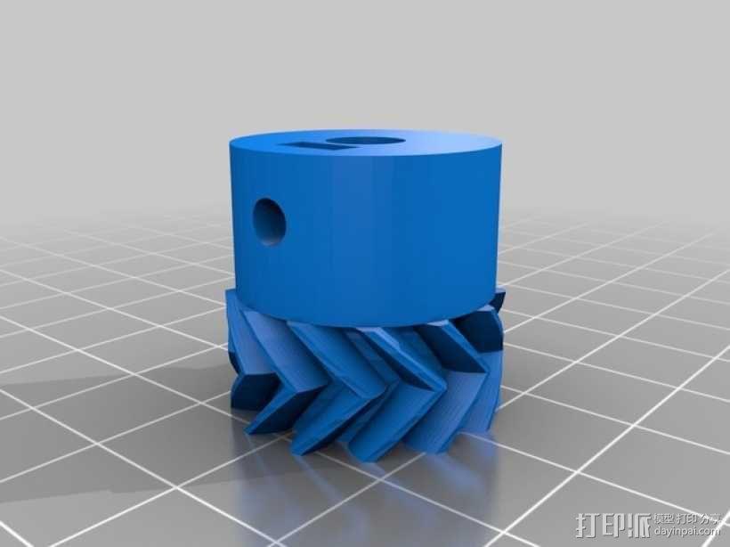 小型绞盘  3D模型  图6
