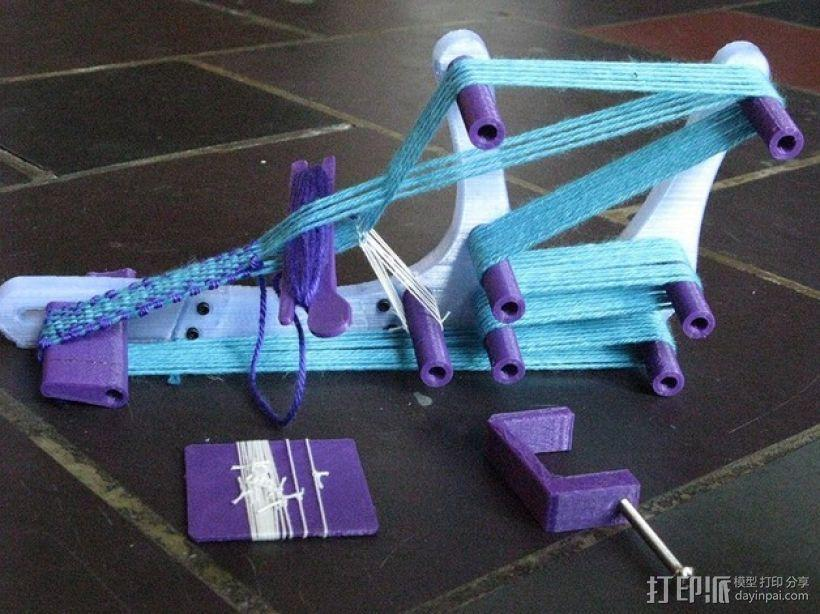 迷你织带机  3D模型  图1