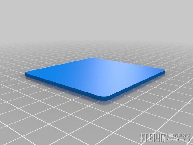 迷你织带机  3D模型  图2