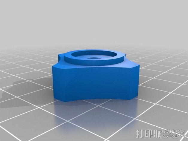 迷你织带机  3D模型  图3