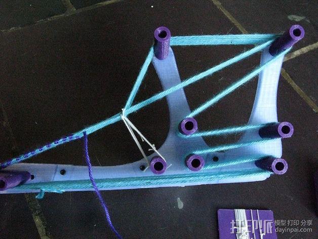 迷你织带机  3D模型  图12