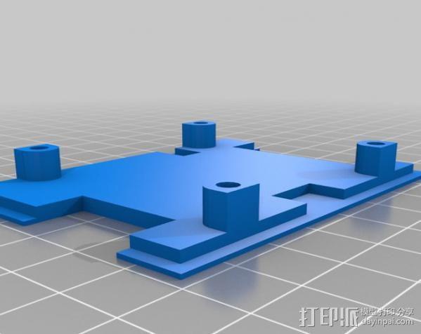 四轴飞行器 3D模型  图5