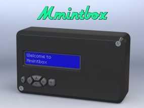 Mmintbox 1外壳 3D模型