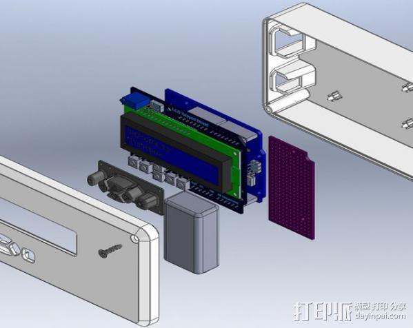 Mmintbox 1外壳 3D模型  图7