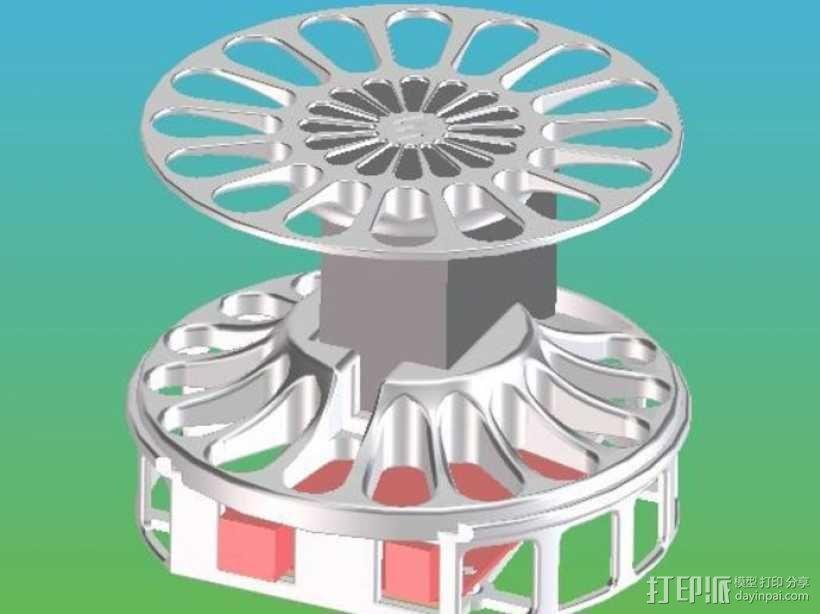 Arduino 3D扫描仪 3D模型  图3