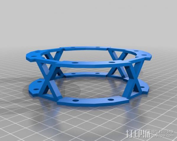 3D打印四轴飞行器 3D模型  图3