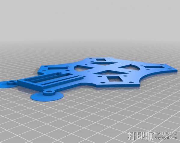 3D打印四轴飞行器 3D模型  图2