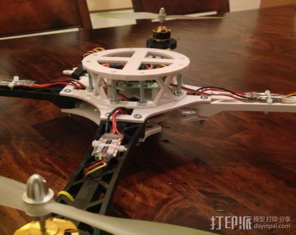 3D打印四轴飞行器 3D模型  图6