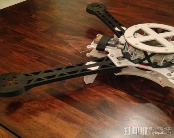 3D打印四轴飞行器 3D模型  图9