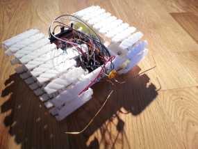 履带式机器人  3D模型