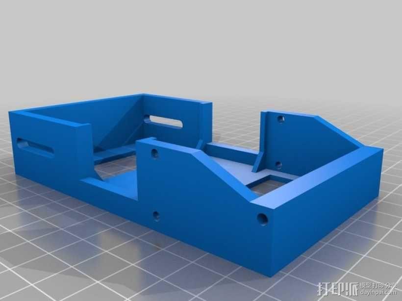 履带式机器人  3D模型  图7
