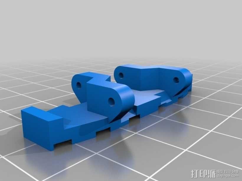 履带式机器人  3D模型  图6