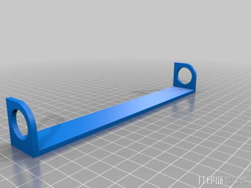 电吉他支架 3D模型  图4
