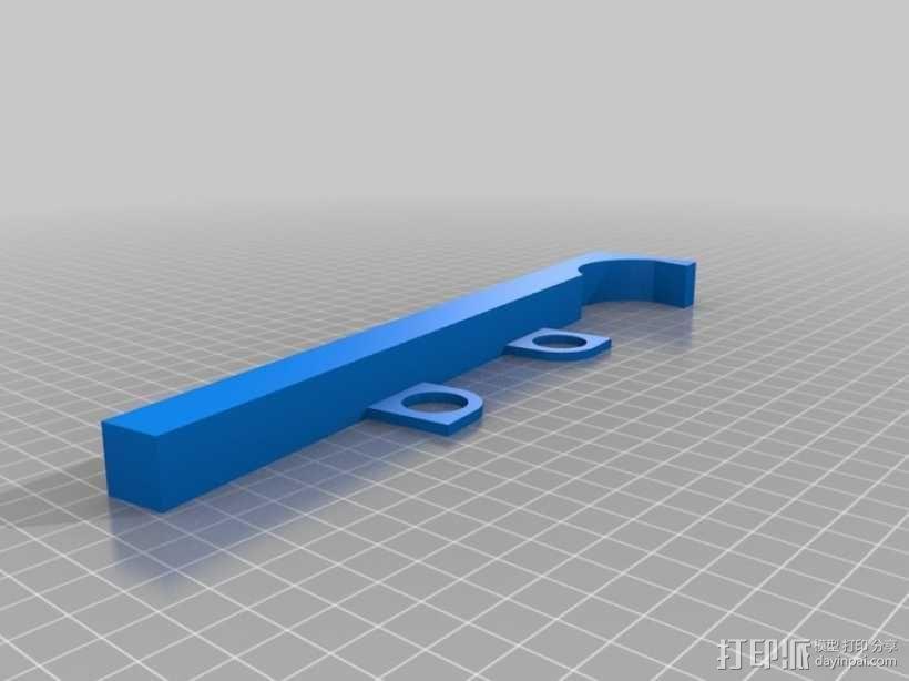 电吉他支架 3D模型  图5