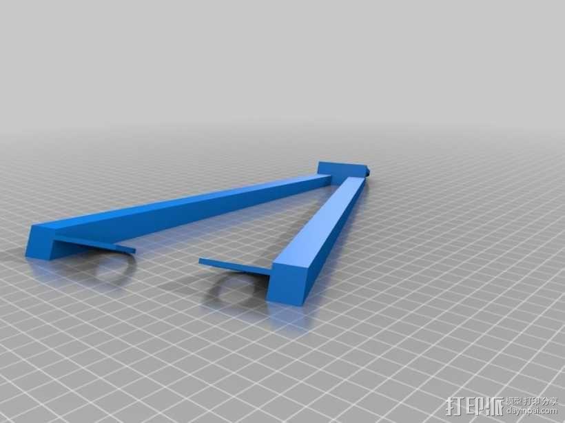 电吉他支架 3D模型  图7