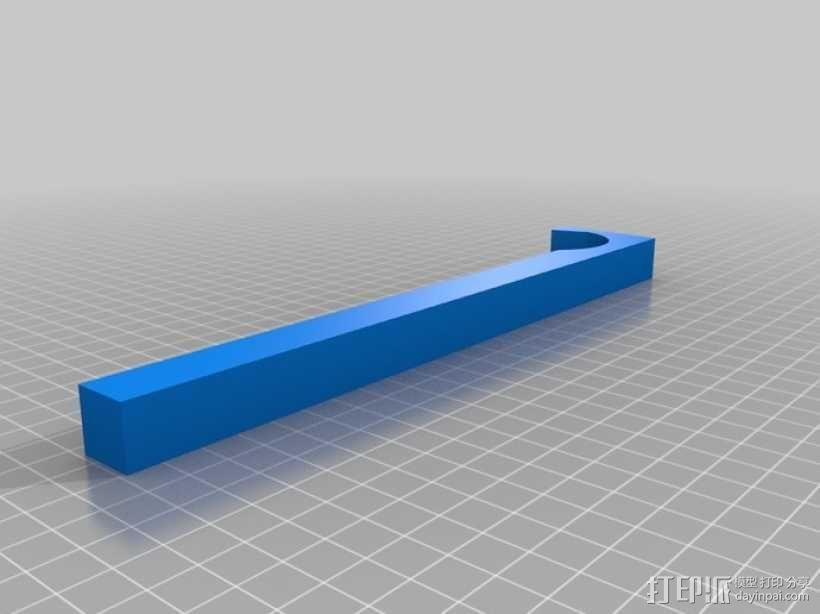 电吉他支架 3D模型  图6