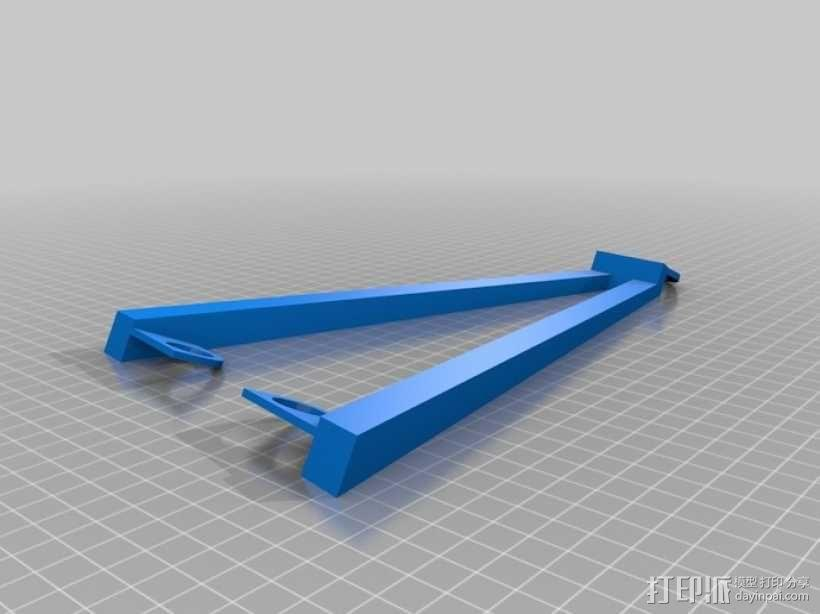 电吉他支架 3D模型  图8