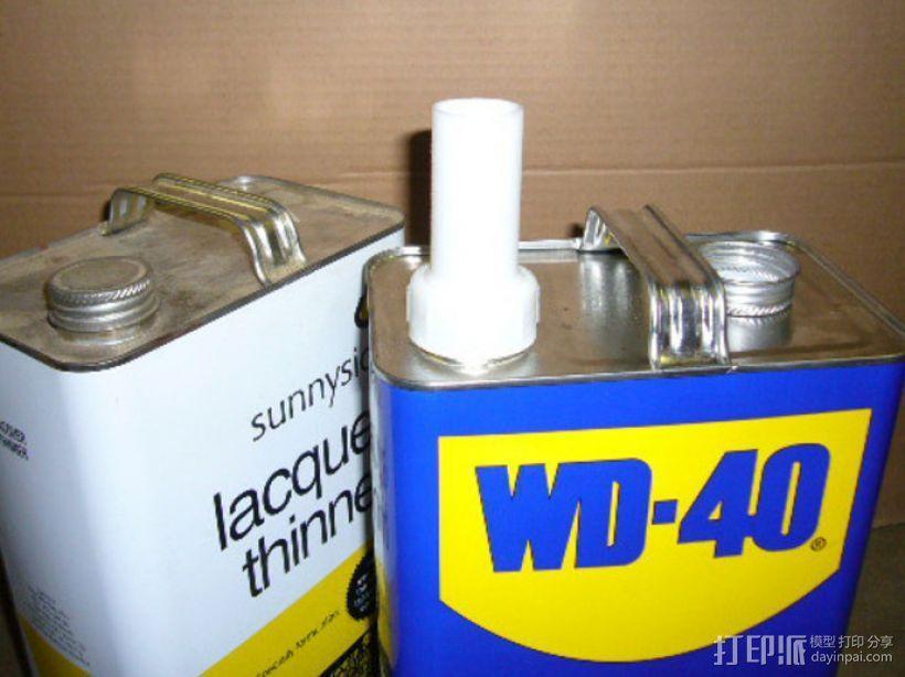 加仑罐引管 3D模型  图1