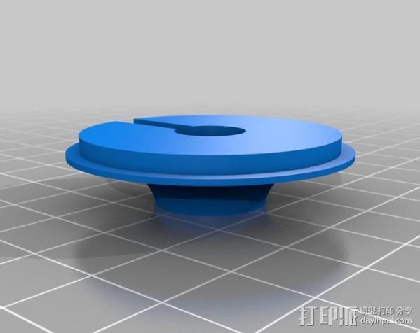 5.8G天线罩  3D模型  图5
