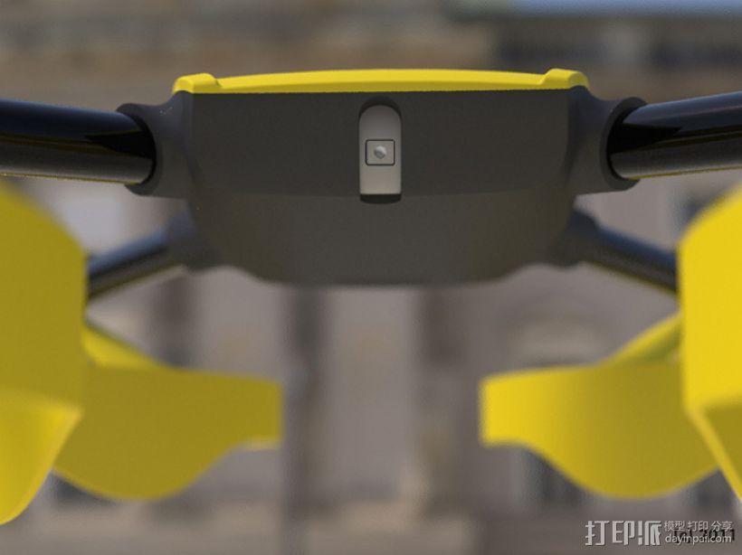 四轴飞行器零部件 3D模型  图12