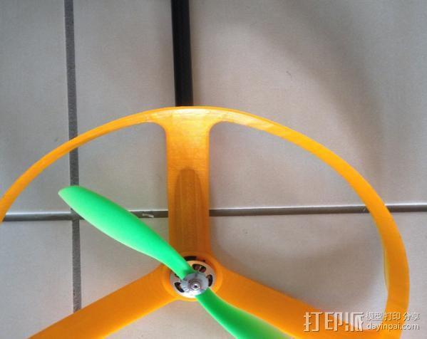 四轴飞行器零部件 3D模型  图8