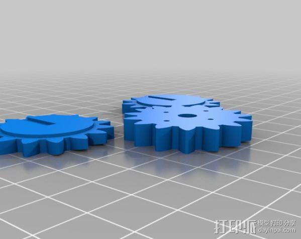 蜘蛛机器人 Spidrack 3D模型  图2
