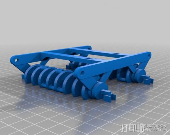 蜘蛛机器人 Spidrack 3D模型  图3