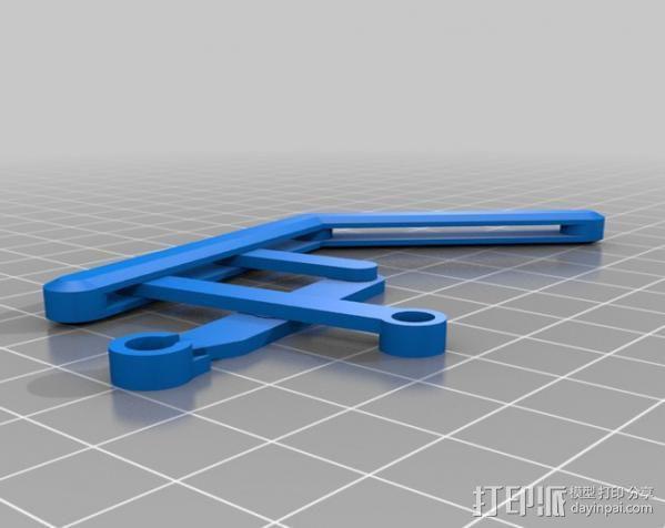 蜘蛛机器人 Spidrack 3D模型  图4
