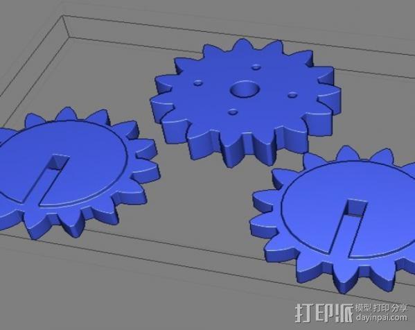 蜘蛛机器人 Spidrack 3D模型  图7