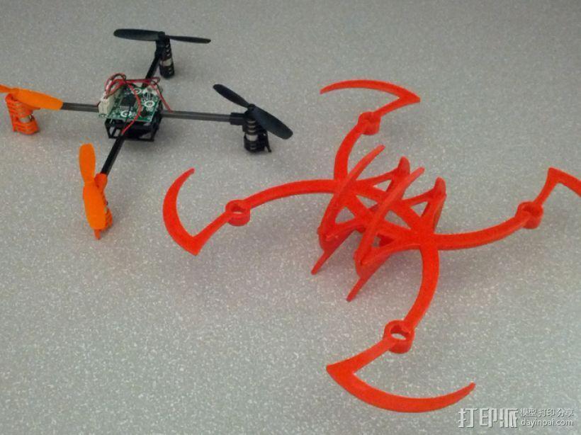 个性化UDI U816四轴飞行器 3D模型  图3