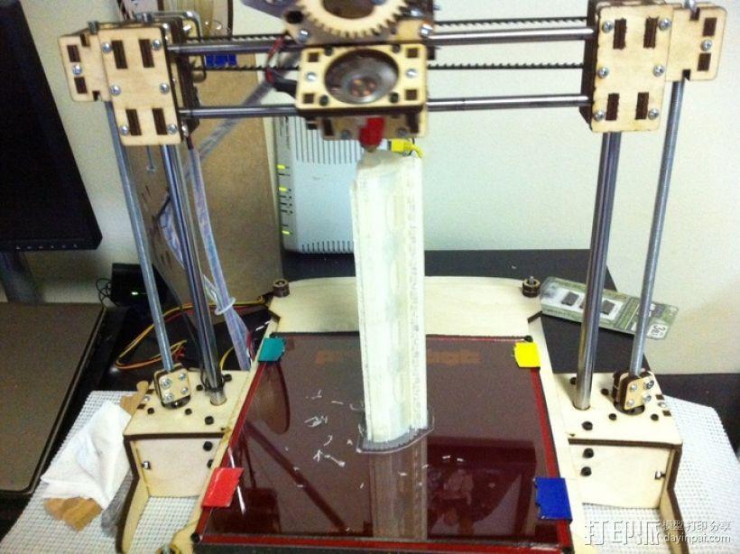 皮卡汀尼导轨 护木 3D模型  图6