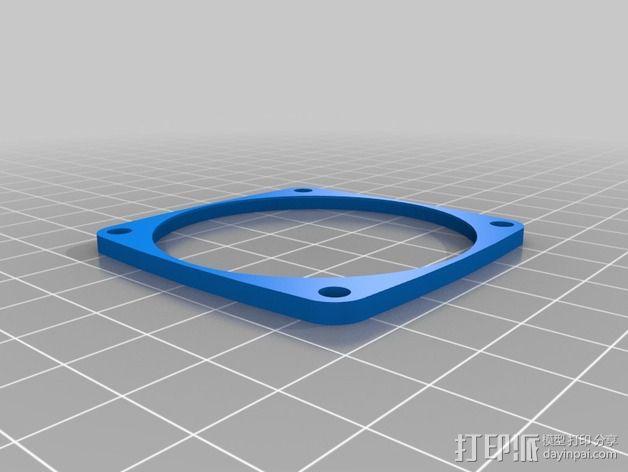 InMoov机器人耳部 3D模型  图2