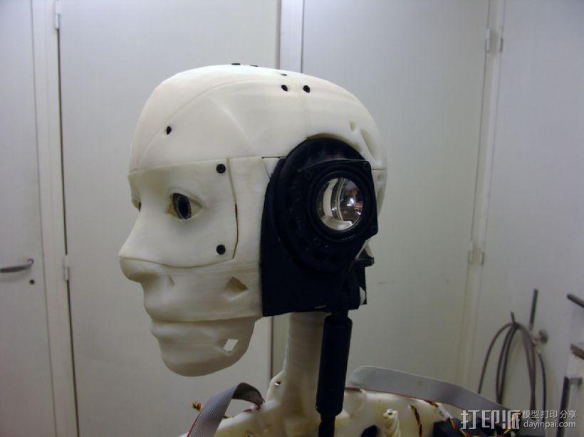 InMoov机器人耳部 3D模型  图1