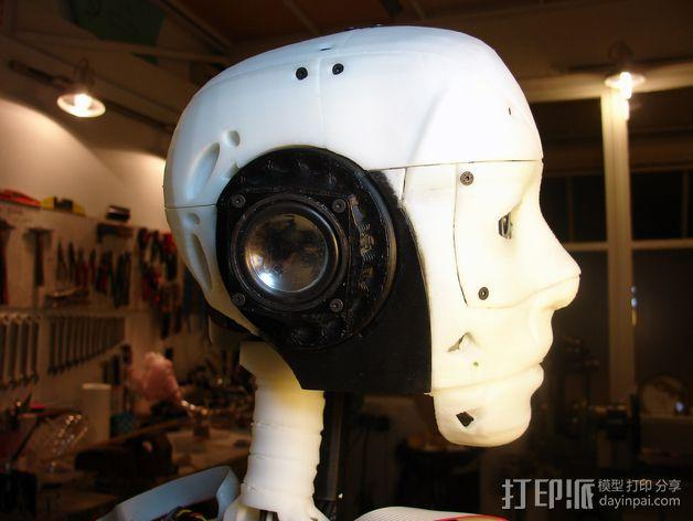 InMoov机器人耳部 3D模型  图3