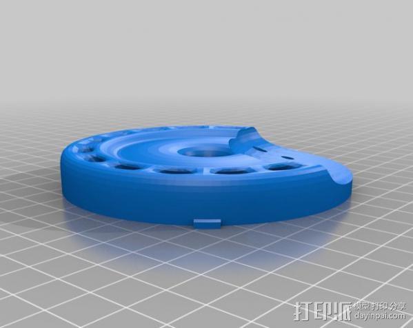 InMoov机器人耳部 3D模型  图10