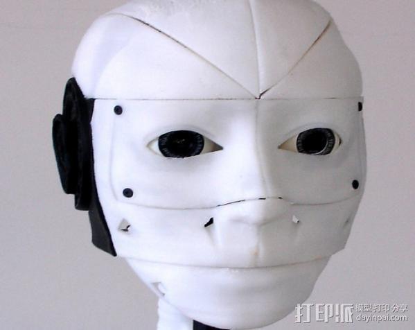 InMoov机器人耳部 3D模型  图8