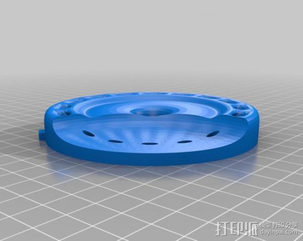 InMoov机器人耳部 3D模型  图11