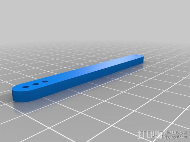 InMoov机器人眼部 3D模型  图2
