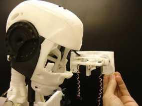 InMoov机器人眼部 3D模型