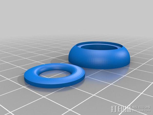InMoov机器人眼部 3D模型  图3