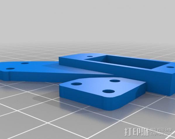 InMoov机器人眼部 3D模型  图5