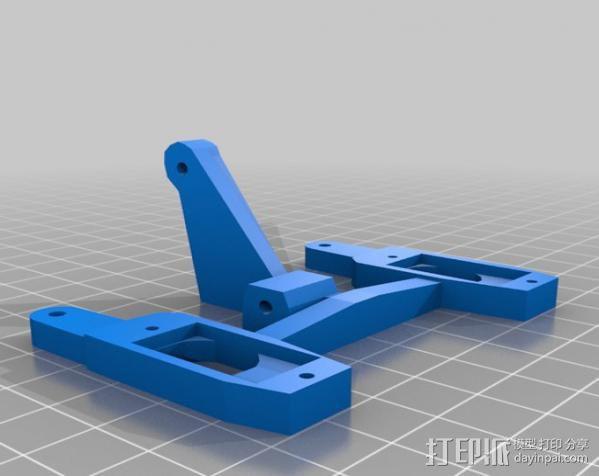 InMoov机器人眼部 3D模型  图6