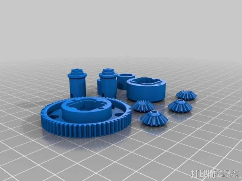 1:10差速器 3D模型  图2