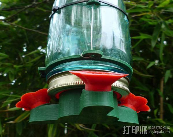 蜂鸟喂食器 3D模型  图3