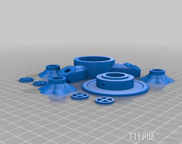 蜂鸟喂食器 3D模型  图9