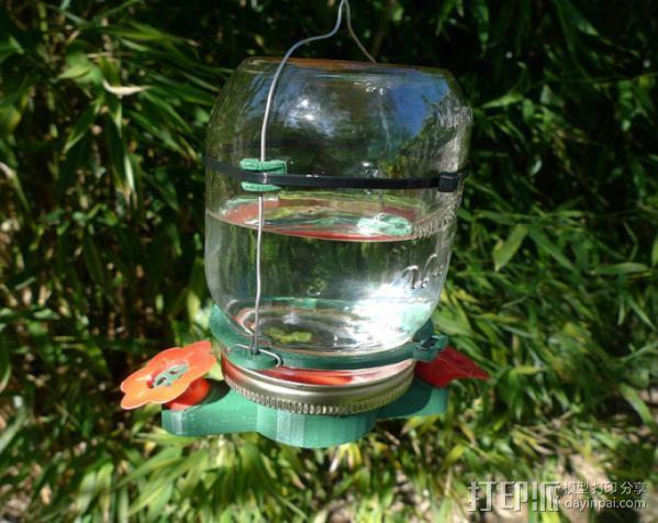 蜂鸟喂食器 3D模型  图15