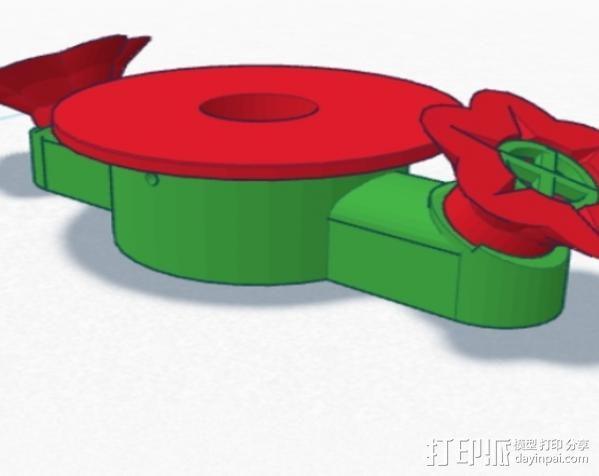 蜂鸟喂食器 3D模型  图18