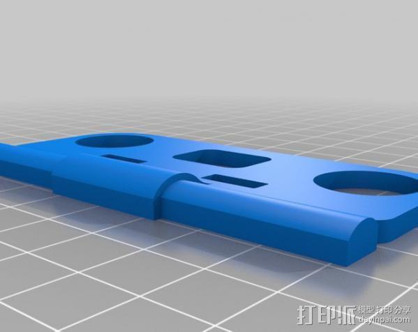 多轴飞行器框架 3D模型  图2