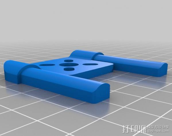 多轴飞行器框架 3D模型  图3